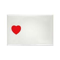 I Love Serbia Rectangle Magnet (100 pack)