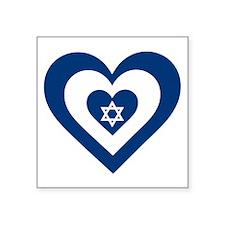 Heart Israel Sticker