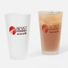 Resist Persist 2018 Drinking Glass