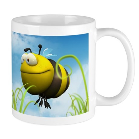 Cartoon Bee Coffee Mug