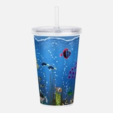 Underwater Love Acrylic Double-wall Tumbler
