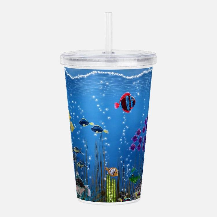 Underwater Love Acrylic Double-wall Tumbler