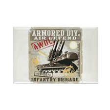 Armored Division Magnets