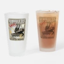 Cute Military 199th infantry brigade Drinking Glass