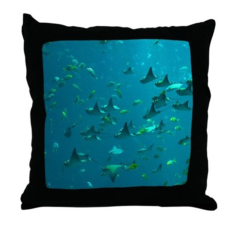 Stingrays Throw Pillow