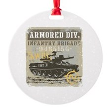 Armored Tank Division Ornament