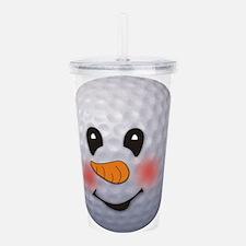 snowman Acrylic Double-wall Tumbler
