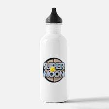 Super Moon Diagram Water Bottle