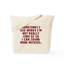 Words Mitosis Tote Bag