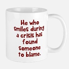 He who smiles Mugs
