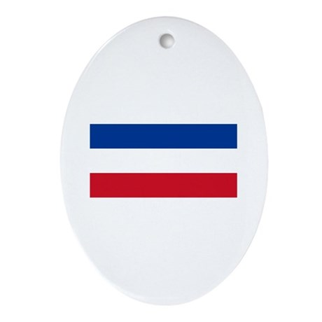 Serbia Oval Ornament