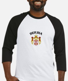 Serbia Coat of Arms Baseball Jersey