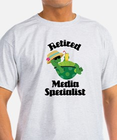 Retired media specialist T-Shirt