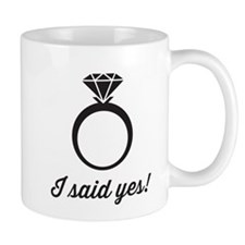 I Said Yes! Mugs