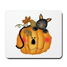 Happy Pumpkin Mousepad