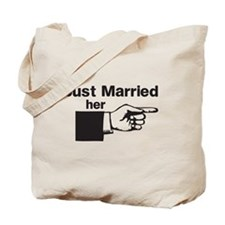 Just Married Her Tote Bag