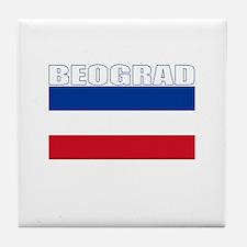 Beograd, Serbia & Montenegro Tile Coaster