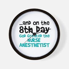Nurse Anesthetist Creation Wall Clock