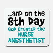 Nurse Anesthetist Creation Mousepad