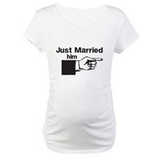 Just Married Him Shirt