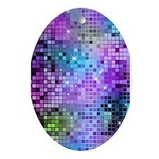 Cute Disco Ornament (Oval)