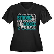 PKD How Stro Women's Plus Size V-Neck Dark T-Shirt