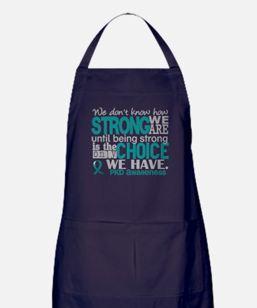 PKD How Strong We Are Apron (dark)