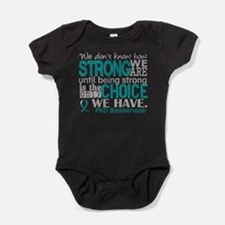 PKD How Strong We Are Baby Bodysuit
