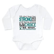 PKD How Strong We Are Long Sleeve Infant Bodysuit
