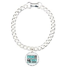 PKD How Strong We Are Charm Bracelet, One Charm