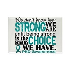 PKD How Strong We Are Rectangle Magnet