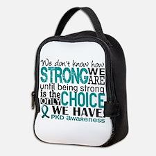 PKD How Strong We Are Neoprene Lunch Bag