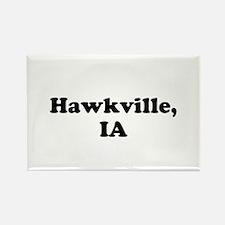 Hawkville, IA Magnets