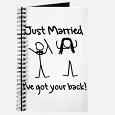 Just Married, Ive Got Your Back Journal