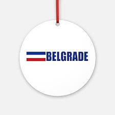 Belgrade, Serbia & Montenegro Ornament (Round)