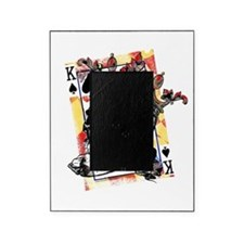 King of Spades Skull Picture Frame