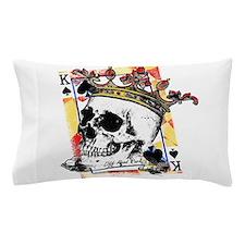King of Spades Skull Pillow Case