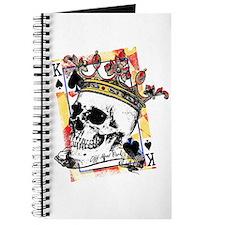 King of Spades Skull Journal