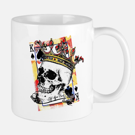 King of Spades Skull Mugs