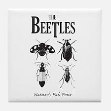 Beetles Tile Coaster