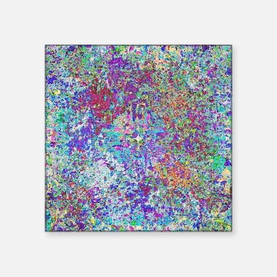 "Paint Splatter Square Sticker 3"" x 3"""