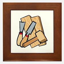 WoodworkingTools Framed Tile
