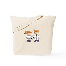 Children Doctors Tote Bag