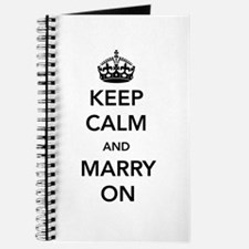 Keep Calm and Marry On Journal