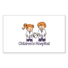 Childrens Hospital Decal