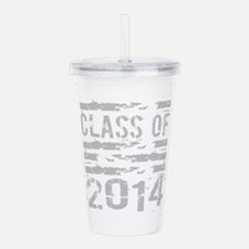 Class of 2014 Grunge Acrylic Double-wall Tumbler