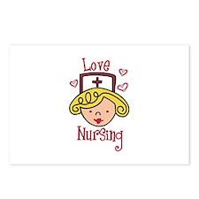 Love Nursing Postcards (Package of 8)
