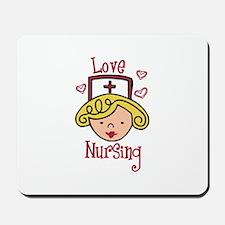 Love Nursing Mousepad