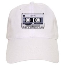 Cassette Tape - Grey Baseball Cap
