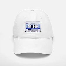 Cassette Tape - Blue Baseball Baseball Cap